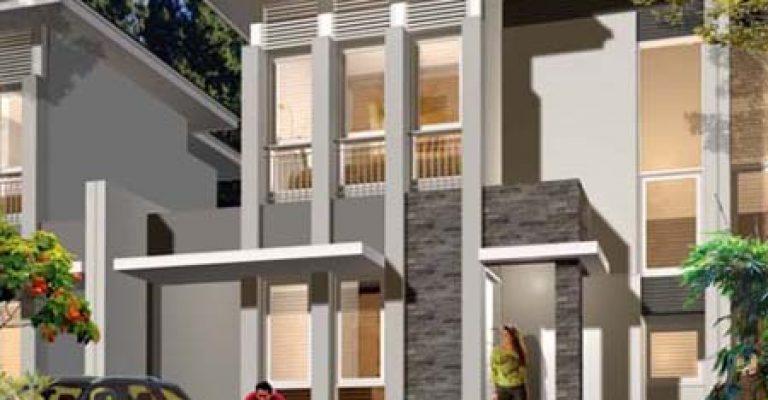 10 desain rumah modern 2 lantai 2017 exclusive model
