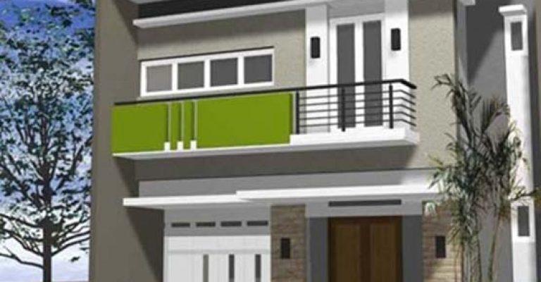 Gaya desain kontemporer membuat keindahan terasa di lantai 1 dan 2