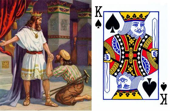 King of Spade (King Sekop)