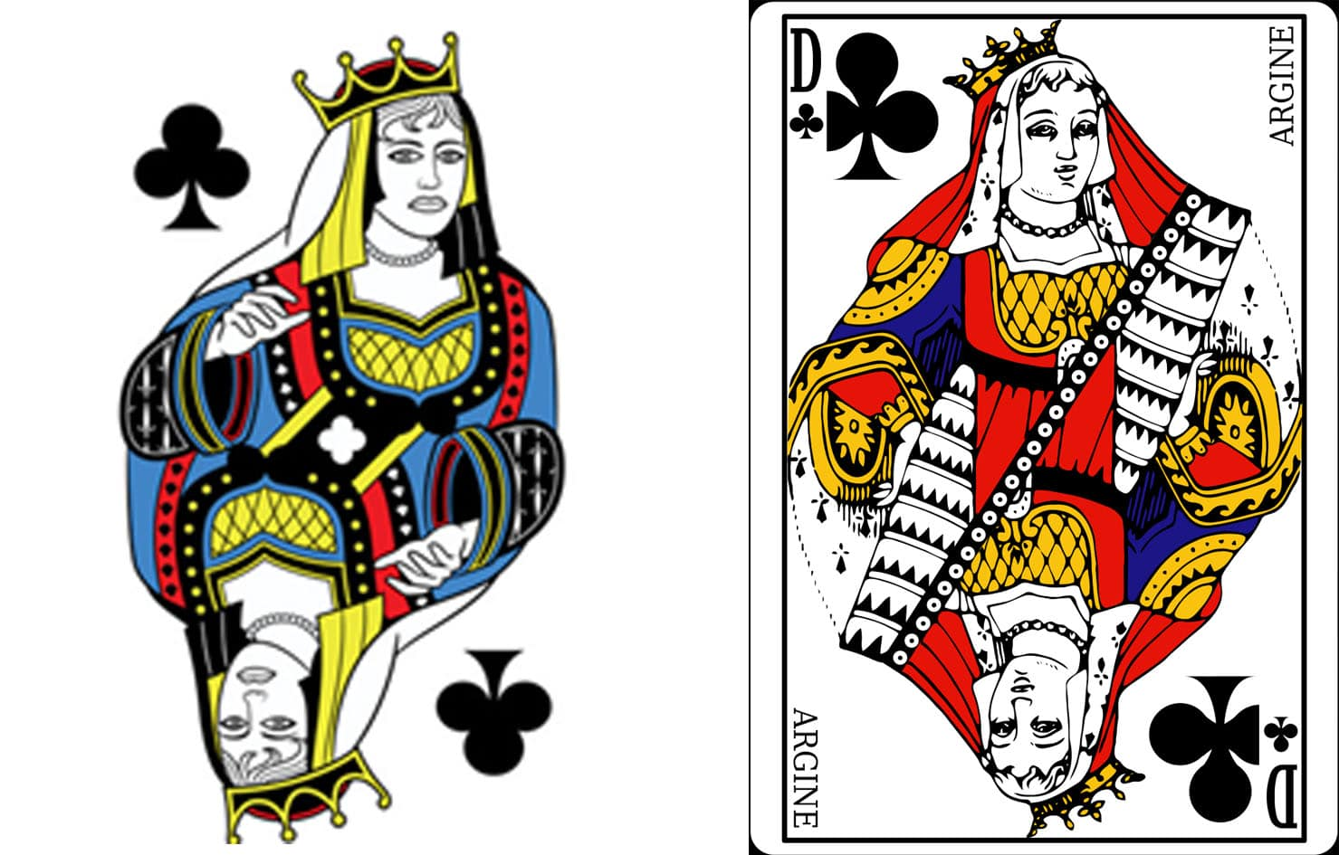 Queen of Clubs Argine