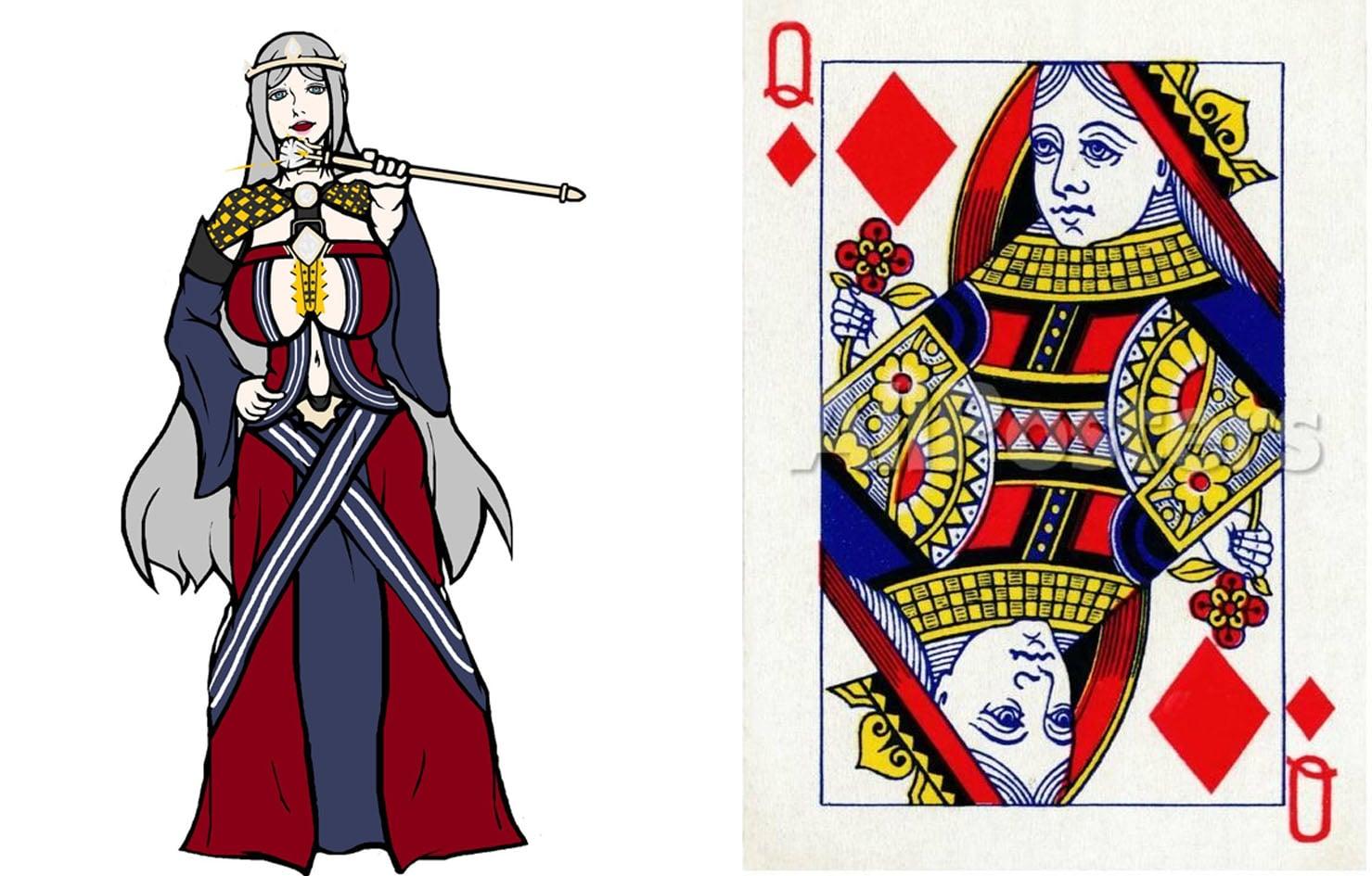 Queen of Diamond Rachel