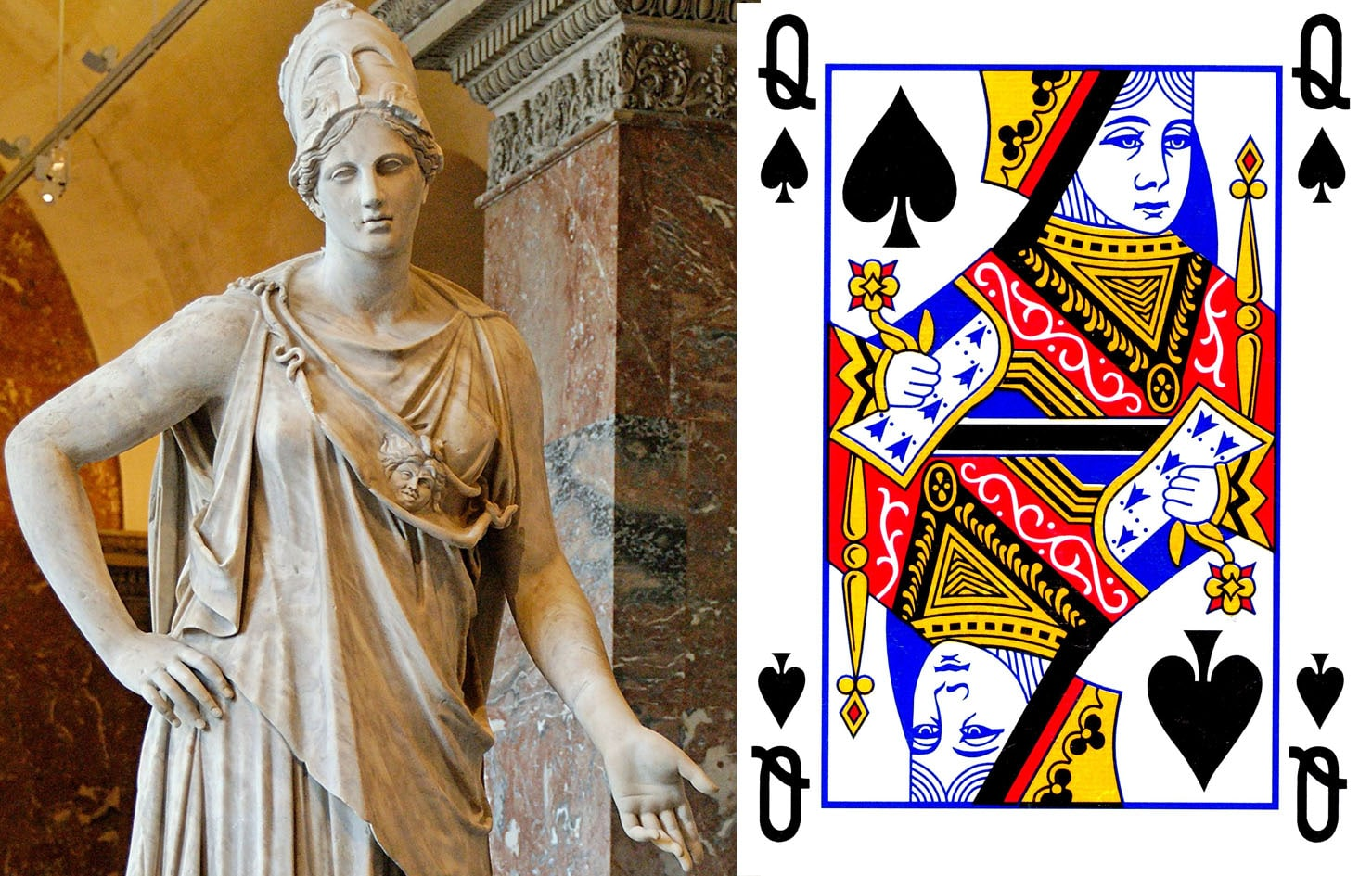 Queen of Spade Athena