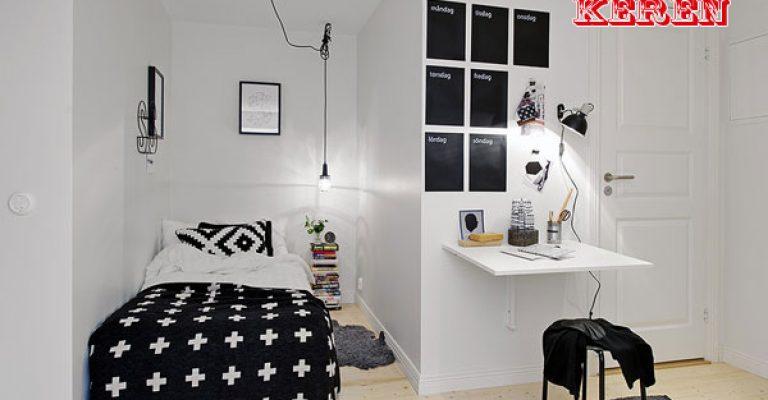 Gunakan warna yang kontras seperti hitam dan putih