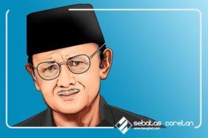 Bacharuddin Jusuf Habibie, Penemu Pesawat Terbang dengan Kecepatan 20 kali Kecepatan Suara
