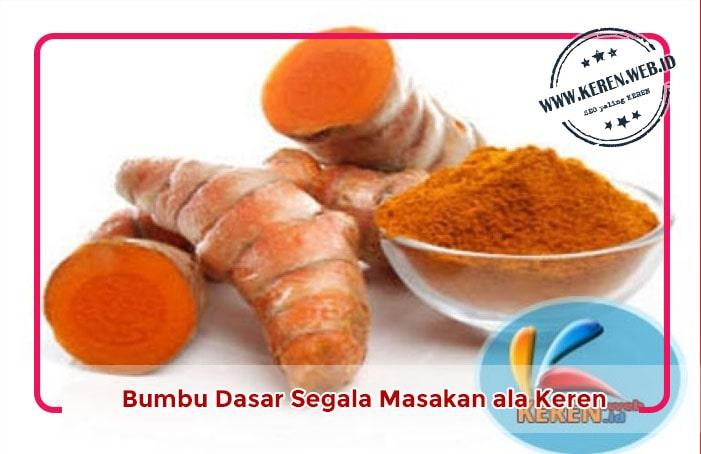 Bumbu Dasar segala Masakan di Bulan Ramadan