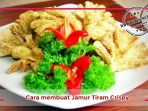 Resep Cara membuat Jamur Tiram Crispy