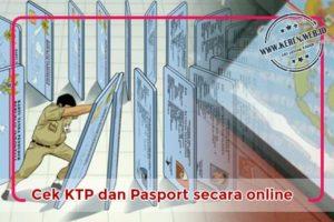 Cara Chek KK, KTP, Paspor secara Online
