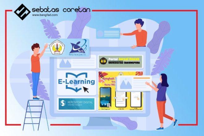 UNTAN Membangun Ekosistem Digital Menuju Cyber University