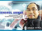 Prof. Khoirul Anwar, Penemu Jaringan 4G