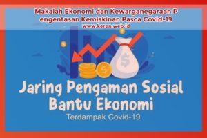 Pengentasan Kemiskinan Pasca Covid-19
