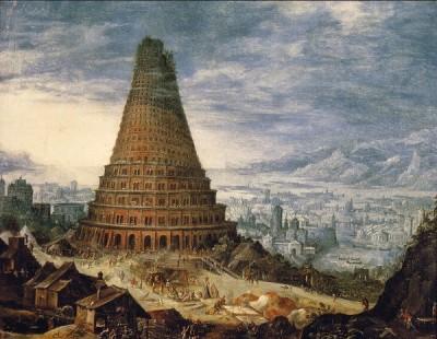 Ilustrasi Menara Babel, Raja Namrud