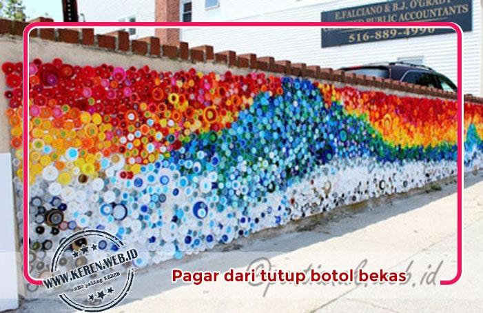 2. Penghias Pagar yang indah (Beautiful Mosaic)