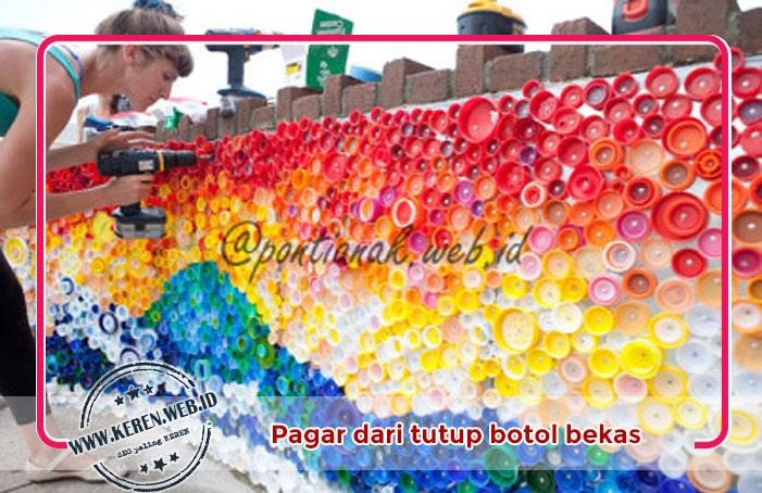 3. Penghias Pagar yang indah (Beautiful Mosaic)