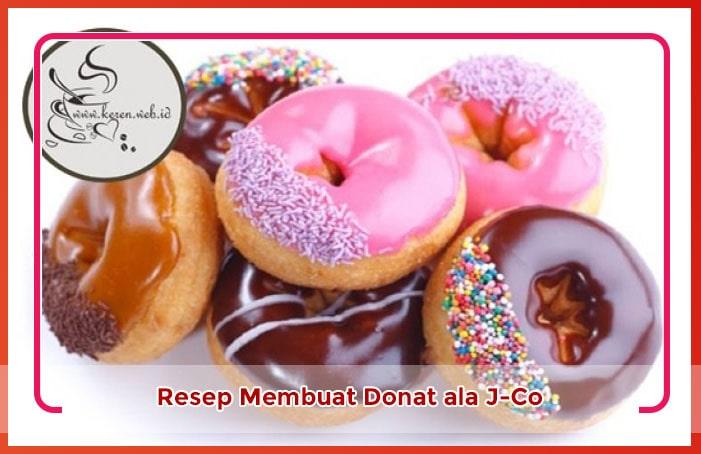 Resep Cara membuat Donat Kentang Ala J-Co Lezat
