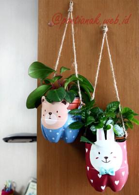 Pot Bunga Gantung yang cantik