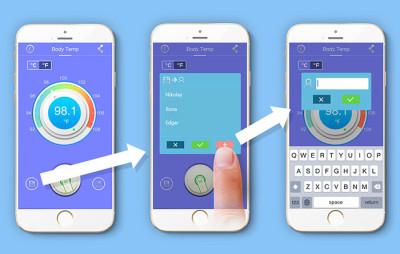 Aplikasi Wishbone untuk merekam Data Personal